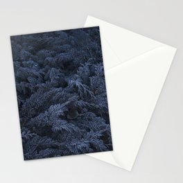 Frozen leaves Stationery Cards