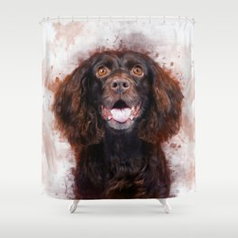 Spaniel Shower Curtain