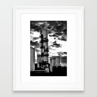 dark tower Framed Art Prints featuring Dark Tower (small) by Matthew Clemens