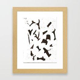 Rock N' Ice Print Framed Art Print