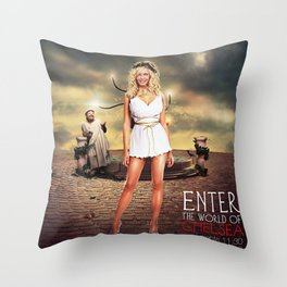 Chelsea Lately  Throw Pillow