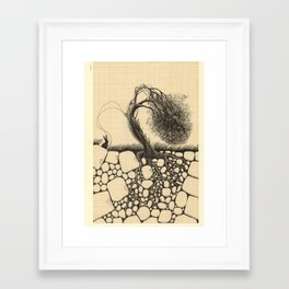 Artificial Tree N.26 Framed Art Print