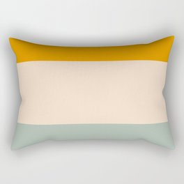 Heracles - Minimal Summer Retro Stripes Rectangular Pillow