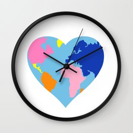 Love your World Wall Clock