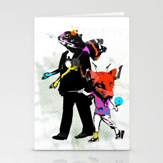 Fabulous Creatures Stationery Cards