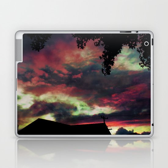 Thick as the Day's End Laptop & iPad Skin