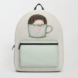 Hedgehog in a Mug Backpack