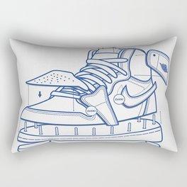 Jodan 1 Poster Rectangular Pillow