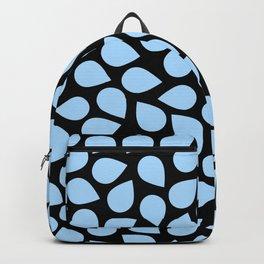 Light Blue Petals Backpack
