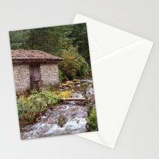 Stone Building by River near Chame Stationery Cards