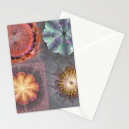 Absenters Intermixture Flower  ID:16165-065456-80170 Stationery Cards