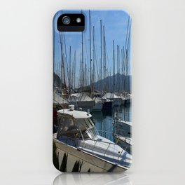 Netsel Yacht Marina Marmaris Turkey iPhone Case