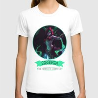 league of legends T-shirts featuring League Of Legends - Cassiopeia by TheDrawingDuo