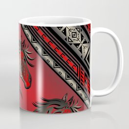 Horse Nation (Red) Coffee Mug