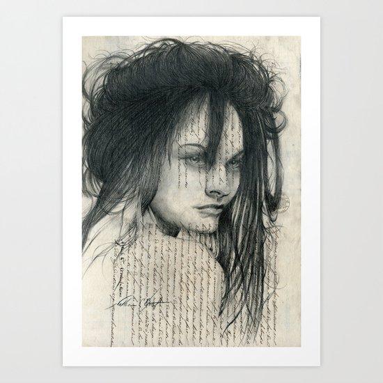 Mane Art Print