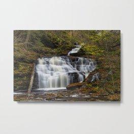 Mohican Falls Metal Print