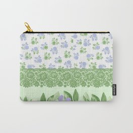 Romantic Leaves Carry-All Pouch