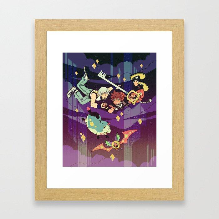 Dream Drop Distance Framed Art Print