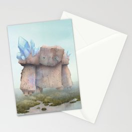 Golem on the moor Stationery Cards