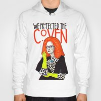 coven Hoodies featuring WE PROTECTED THE COVEN by Robert Red ART