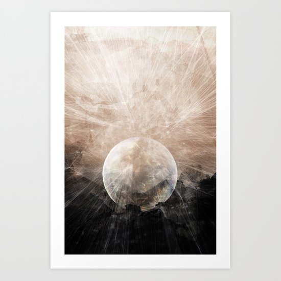 Planetary Soul Grace Art Print