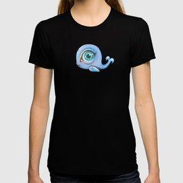 light blue baleine T-shirt