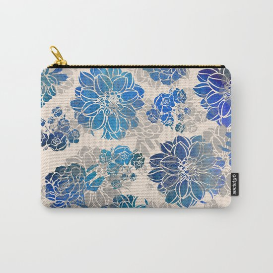 Flower Pattern Design #2 Carry-All Pouch
