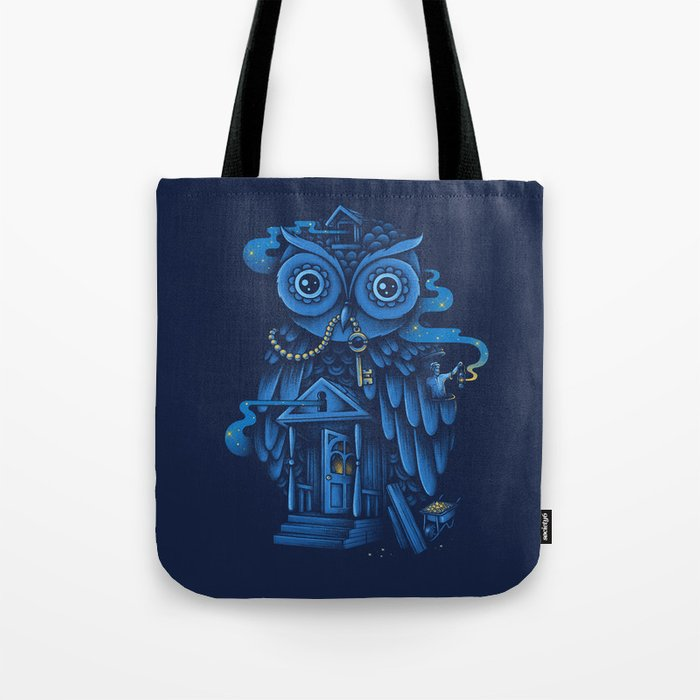 Guardian of the Night Tote Bag