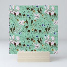 Echinacea mint Mini Art Print