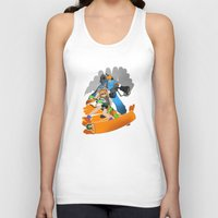 team fortress Tank Tops featuring Ink Fortress 2 by Hexabeast