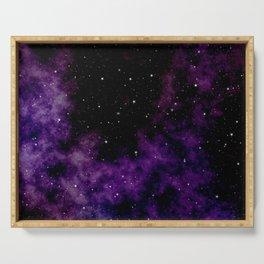 Dark Galaxy Serving Tray