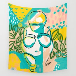 Willendorf Beach Wall Tapestry
