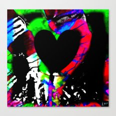 Profits for Charity - Room For A Heart Canvas Print