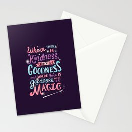 Kindness, Goodness, & Magic Stationery Cards