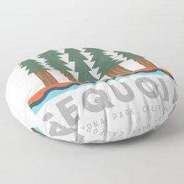 Sequoia National Park California Design for the outdoors lover! Floor Pillow