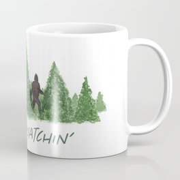 Gone Squatchin' Forest Edition Coffee Mug