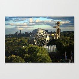 Queens, New York City - Unisphere 2010 Canvas Print