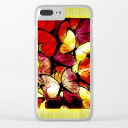 Insect Models: Beautiful Butterflies 10-01 Clear iPhone Case
