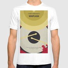 No761 My Whiplash minimal movie poster White Mens Fitted Tee MEDIUM