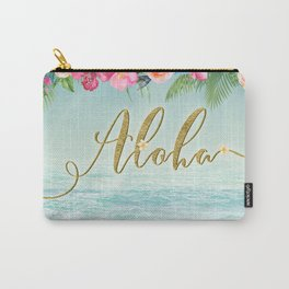 Golden Aloha Carry-All Pouch