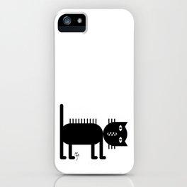 Standing Cat iPhone Case