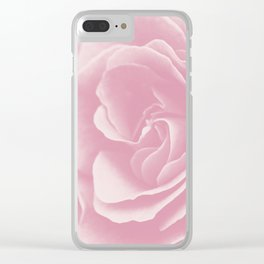 Light Pink Rose #2 #floral #art #society6 Clear iPhone Case