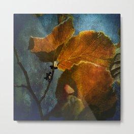 Autumn Velvet Crush Metal Print