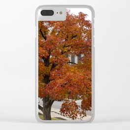 Autumn 2017 Clear iPhone Case