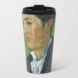 Portrait of Armand Roulin by Vincent van Gogh Travel Mug