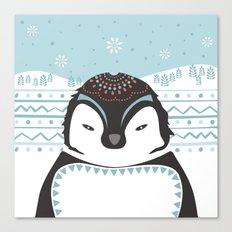 Messer Pinguino Canvas Print