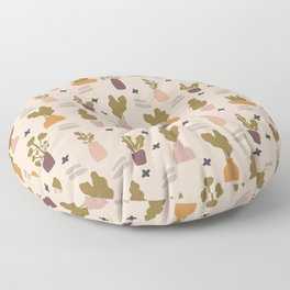 Oasis - Earth Tone Palette  Floor Pillow