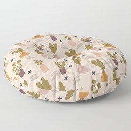 Oasis - Earth Tone Palette  Floor Pillow