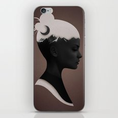 She Just iPhone Skin