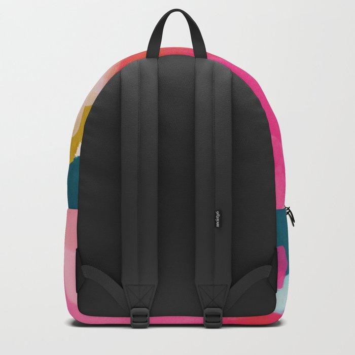 pink sky Backpack
